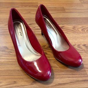 👠 Comfort Plus Red Patent Heels 👠